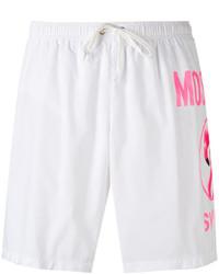 Moschino Flamingo Logo Swim Shorts