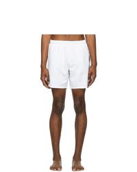 BOSS White Dolphin Swim Shorts