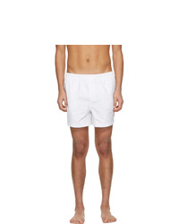 Casablanca White Logo Swim Shorts