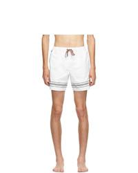 Burberry White Martin Swim Shorts