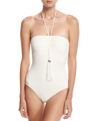 Vince Camuto Bandeau Maillot One Piece Swimsuit