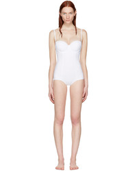 Dolce & Gabbana Dolce And Gabbana White Wired One Piece Swimsuit