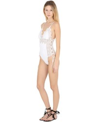 Ermanno Scervino Macram Lace Lycra One Piece Swimsuit