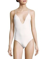 Michael Kors Michl Kors Collection One Piece Strappy Swimsuit