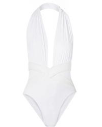 OYE Swimwear Roman Halterneck Swimsuit
