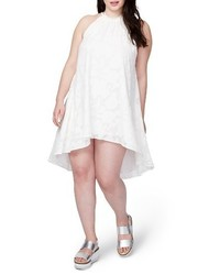 Plus size rachel jacqueline burnout swing dress medium 3723029