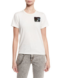 Marc Jacobs Classic Sequined Mtv Tee