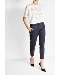 Moschino Cotton Eyelet T Shirt