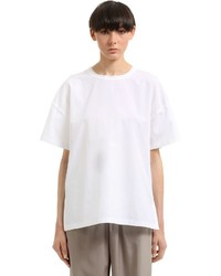 Jil Sander Cotton Jersey T Shirt