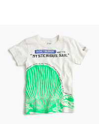 J.Crew For The American Museum Of Natural History Glow In The Dark Dimetrodon T Shirt