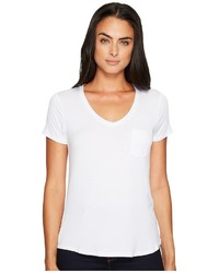 Prana Foundation Short Sleeve V Neck Top T Shirt