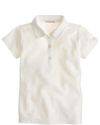 J.Crew Girls Piqu Polo Shirt