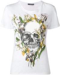 Alexander McQueen Iris Skull T Shirt
