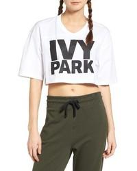 Ivy Park Logo Crop Tee