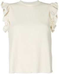 See by Chloe See By Chlo Frill Sleeve T Shirt