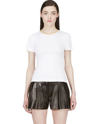 Roksanda White Contrast Trim T Shirt