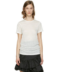 Isabel Marant White Madras T Shirt