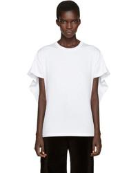 MM6 MAISON MARGIELA White Overlay T Shirt