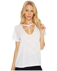 LnA Willow Strappy Tee T Shirt