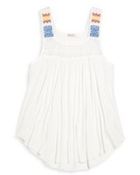 Ella Moss Girl Girls Flared Tank Top