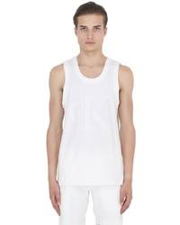 Calvin Klein Jeans Infinity White Cotton Jersey Tank Top