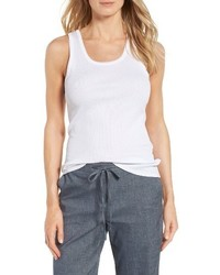 Nordstrom Collection Pima Cotton Racerback Tank