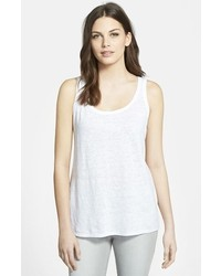 Nordstrom Collection Slub Linen Tank