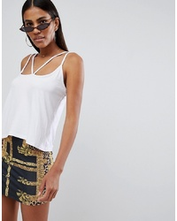 Missguided Harness Strap Vest Top