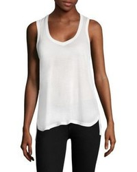 ATM Anthony Thomas Melillo Jersey V Neck Tank Top
