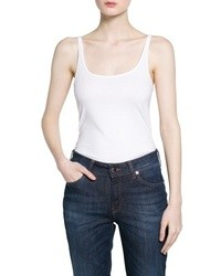 Mango Outlet Strap Cotton Top