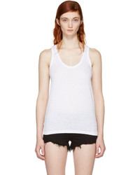 Rag & Bone Rag And Bone White The Tank Tank Top