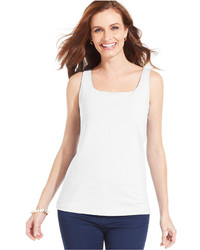 Karen Scott Shelf Bra Tank Top