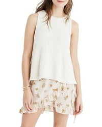 Madewell Sunsetter Sweater Tank
