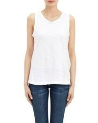 Current/Elliott The Muscle Tee Tank White