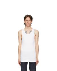 Calvin Klein Underwear Three Pack White Cotton Tank Top