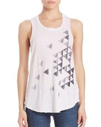 Sundry Triangles Sleeveless Tank Top