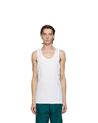 Nike Two Pack White Cotton Everyday Tank Tops