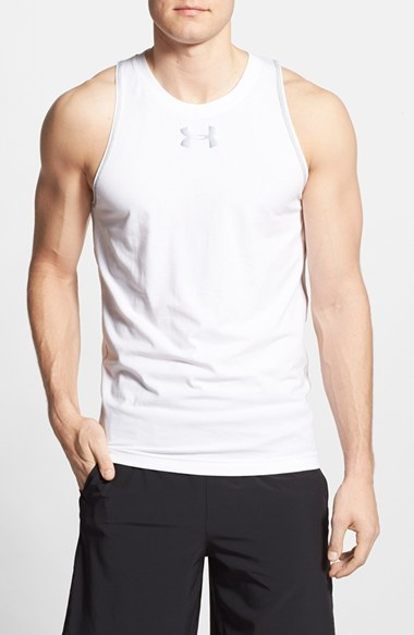 fc41600180ed3 ... Under Armour Under Armour  Just Sayin  Too  AllSeasonGear ® Charged  Cotton ® Tank