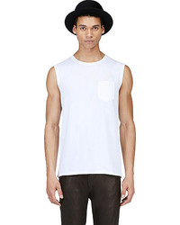 Acne Studios White Layered Pocket Kansas Tank Top