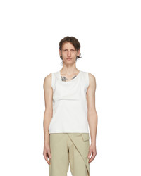 Bianca Saunders White Out Tank Top