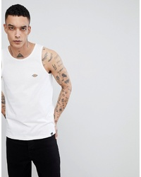 Dickies Wickett Vest With Small Logo In White