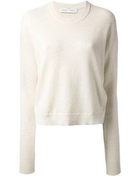 Proenza Schouler Piqu Textured Sweater