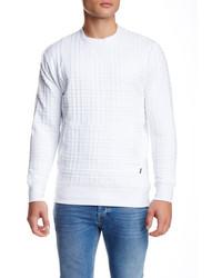 Zanerobe Textured Knit Crew Neck Sweater