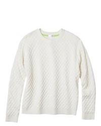 Xhilaration Juniors Textured Sweater Linen L