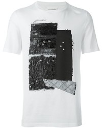Maison Margiela Textured Print T Shirt