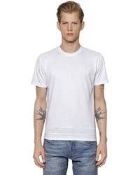 Calvin Klein Collection Micro Textured Jersey T Shirt