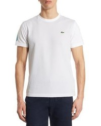 Lacoste Textured Cotton Tee