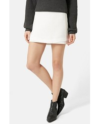 Basket weave underlay miniskirt medium 180224