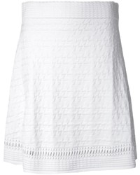 Opening Ceremony Textured A Line Skirt