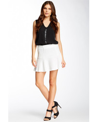 Fate Textured Skater Skirt